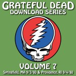 Buy Download Series Vol. 7: 1980-09-03 Springfield, Ma CD1