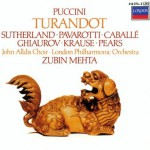 Purchase Joan Sutherland Puccini: Turandot (With Luciano Pavarotti & Montserrat Caballe, Under Zubin Mehta) (Remastered 1984) CD1