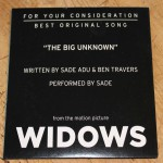 Purchase Sade The Big Unknown (CDS)