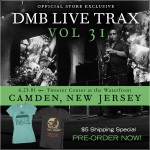 Buy DMB Live Trax Vol. 31 - Tweeter Center At The Waterfront CD3