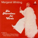 Buy Too Marvelous For Words (Reissued 1995)