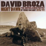 Purchase David Broza Night Dawn: The Unpublished Poetry Of Townes Van Zandt
