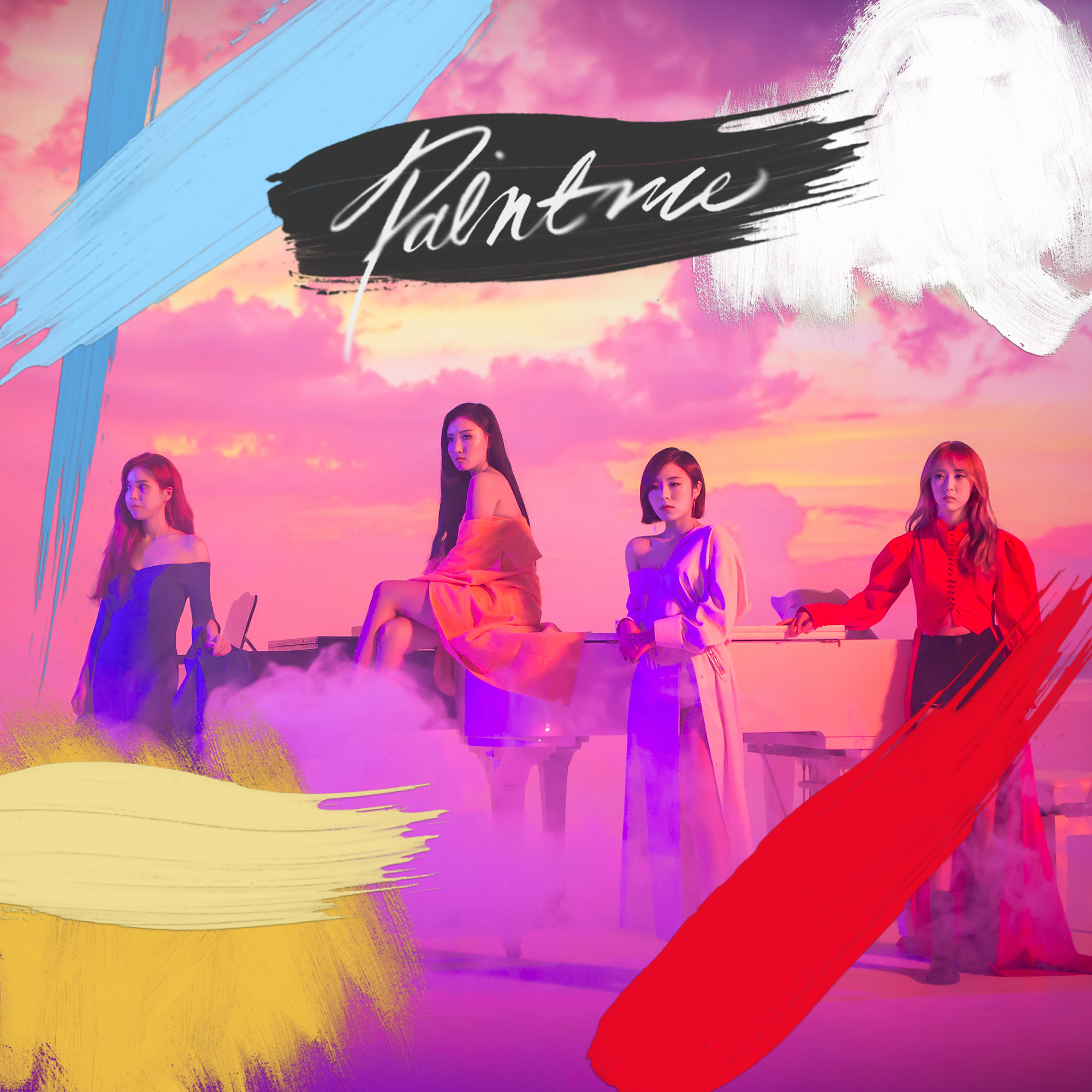 Paint Me (CDS) 2018 Ballad - Mamamoo - Download Ballad Music